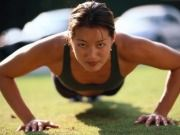 Push ups  - Top 10 Exercises to do at home