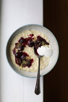 Recipe: Rice pudding with wintery cherries - The Globe and Mail