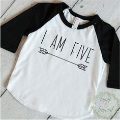 Five Year Old Birthday Shirt Boy 5 Years Old Birthday Outfit Raglan Toddler Shirt 5th Birthday Shirt Hipster Boy Clothes Modern Arrow 130 #5_year_old_birthday #5th_birthday_boy #5th_birthday_outfit