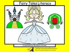 It's a pair of shoes that changes Cinderella's life. The original fairy tale of Brothers Grimm comes alive with social learning. Cinderella Fairy Tale Literacy task cards can be used as a class game, in cooperative groups or as an ELA center. Learners answer 30 questions about the familiar yet different, Brothers Grimm tale of Cinderella.
