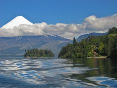 Lago Llanquihue, Chile. Chile, Volcano, South America, Most Beautiful, World, Nature, Travel, Lakes, Places To Go
