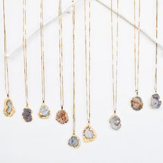 Gold Edged Galaxy Druzy Necklace Choose your length by WildAirCo - $65 #possibleproduct