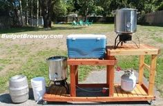 Budget Brewery - great DIY website for building your All-Grain brewery at home