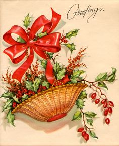 Christmas card from my collection
