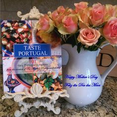 Mother's Day - Dia das Mães, is 2 weeks away! Make memories and share traditions this year with my cookbook! Order on my website in Canada, USA and other countries at the links on the page. http://portuguesediner.com/tiamaria/taste-portugal-101-easy-portuguese-recipes/