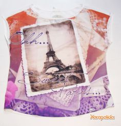 Chique, define! Com jeitinho francês, um toque de Paris para encher o look de GLAM. We s2 tee!