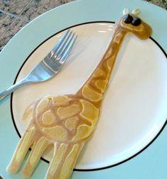 How to make Giraffe Pancake