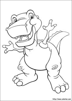 The Land Before Time Printable Activities For Kids Online Coloring Book 4