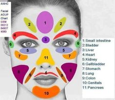 Home Facial #Massage for younger #skin #colorfulface