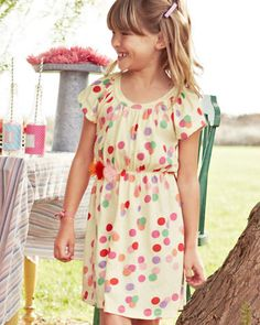 Polka-Dotty Party Dress by Morgan & Milo