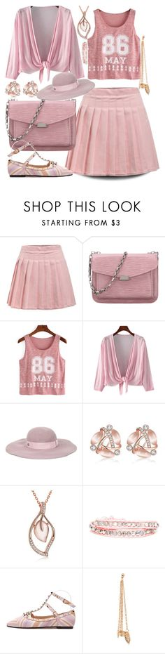 """Gentle spring"" by ane-twist ❤ liked on Polyvore featuring Maison Michel and polyvoreeditoria"
