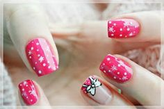 I juss lov the pink nails Dream Nails, Love Nails, Sparkle Nails, Nail Decorations, Diy Nails, Essie, Pedicure, Acrylic Nails, Nail Designs