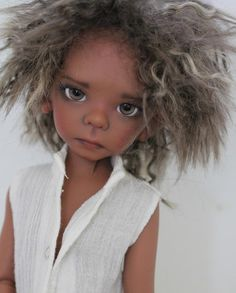 JpopDolls.net ™ :: Dolls :: Kaye Wiggs :: Maurice :: Elf Maurice boy in coffee skin tone (PREORDER)
