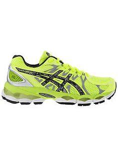 213d9831b6 Gel-Nimbus Lite-Show Shoe by Asics - The run shoe that features glow-in-the-dark  gel.