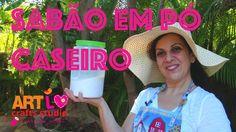 Receita De Sabão Em Pó Caseiro- Homemade Powder Detergent Recipe E 46 EN...