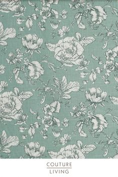 Featuring a heritage inspired repeating floral pattern with charming period detail, Bridgewater is part of the Somerset collection from Prestigious Textiles. Available as curtains or blinds, made to measure by Couture Living.