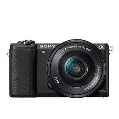 """528,01€ Sony ILCE-5100 - Cámara EVIL de 24,3 MP ( pantalla 3"""", estabilizador óptico, vídeo Full HD), color negro: SONY: Amazon.es: Electrónica"""