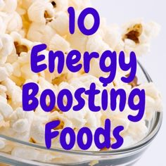 Need a midday energy boost? Steer clear of the candy and caffeine. Instead, try these healthy foods to energize your afternoon.