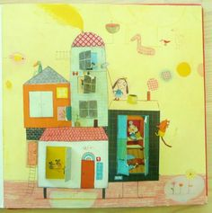 stickers and stuff: The House that Jill Built - illustrations by Delphine Durand