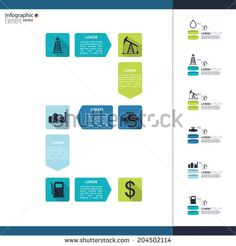 Stock Images similar to ID 190192937 - timeline infographic with...