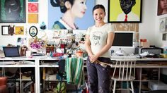 After her success on hit show <i>MasterChef</i>, artist and cook Poh Ling Yeow tells Larry Writer it's not fame and fortune but fulfilment that drives her. Studio Spaces, Artist Studios, Workspace Inspiration, Australian Artists, Altered Art, Success, Crafty, Cool Stuff, Drawings