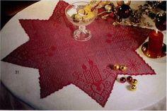 El mundo del crochet.: ESTRELLA NAVIDEÑA