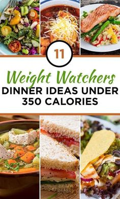 11 Weight Watchers Dinner Ideas Under 350 Calories #ww #recipe #lowcal