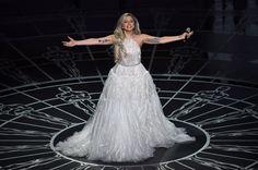 Lady Gaga Oscar performance 2015
