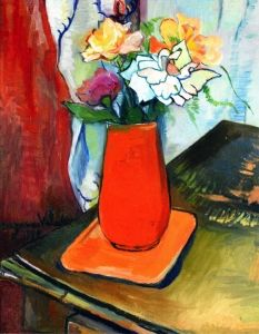 Bouquet of Flowers - Suzanne Valadon - The Athenaeum