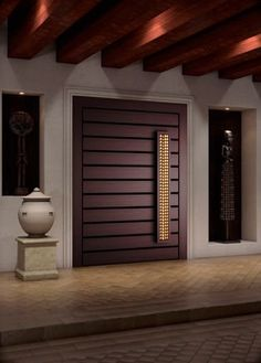 Are you looking for the best wooden doors for your home that suits perfectly? Then come and see our new content Wooden Main Door Design Ideas. Main Entrance Door Design, Wooden Main Door Design, Modern Wooden Doors, Modern Front Door, Front Door Design, House Entrance, Entrance Doors, Wood Doors, House Doors