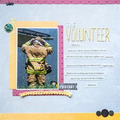 Scrapbook Ideas for Paying Tribute to Men and Women Who Serve   Kelly Sroka   Get It Scrapped