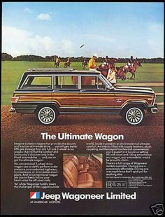 Jeep Wagoneer Limited Polo Pony (1982)