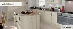 Hygena - Valetti cream kitchen