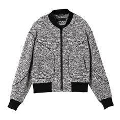 Rag & Bone marled bomber jacket