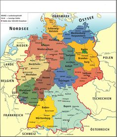 Did you know that there is a lot to discover in good old Germany? Many US citizens have german ancestry and need to research in the Bundesrepublik Deutschland (Germany). There is much to know if yo… History Of Germany, Black Forest Germany, German Grammar, German Language Learning, Photo Maps, Learn German, Germany Travel, Genealogy, Computer