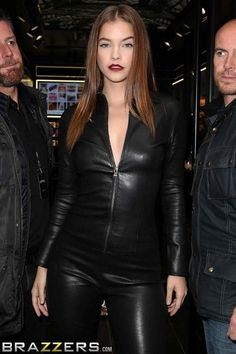 Barbaras new career move Leather Dresses 2a248455c