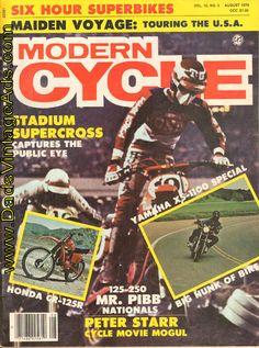 1979 Modern Cycle – Stadium Supercross captures the public eye