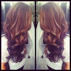 ideas about Auburn Hair Highlights