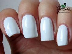 China Glaze White On White - #whitepolish #nails #nailpolish #whitenails #bydanijela - bellashoot.com