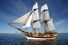 The Lady Washington is Washington's official State Ship and can be found sailing up and down the Pacific Coast from her home port of Aberdeen, WA.