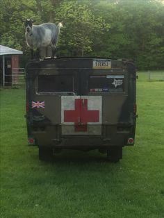 1967 Land Rover FV18067 Ambulance