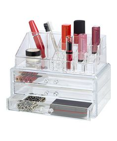 Love this 19-Compartment Cosmetic Organizer by Richards Homewares on #zulily! #zulilyfinds