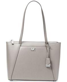 f42ea69c3871 Michael Kors Maddie Crossgrain Leather Tote & Reviews - Handbags &  Accessories - Macy's