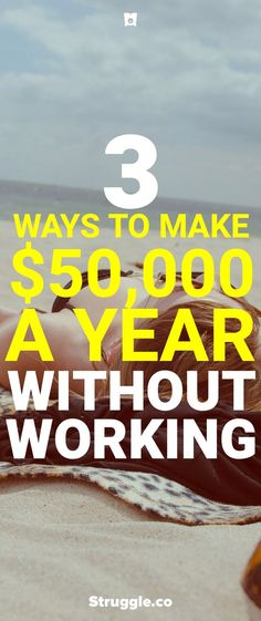Retirement means never having to work again, but how do you keep on making money without doing any work? Here are 3 ways you can make a full-time salary without working and retire early. Retirement Advice, Early Retirement, Retirement Planning, Retirement Cards, Financial Peace, Financial Success, Financial Literacy, Make Money From Home, Way To Make Money