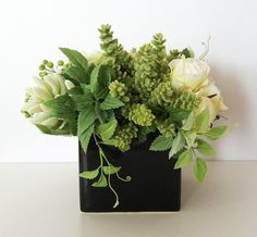 ON SALE Made to Order  Floral Arrangement  by ArtsFloralDesign, $67.15