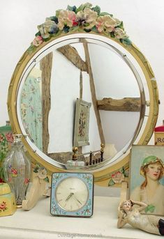 Reflections on the history of the Barbola mirror – Jolly Volley Vintage