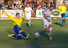 FC Futura - Gnistan - FC Futura # 10 Anton Britschgi scores 3-2 lead on 86th minute.