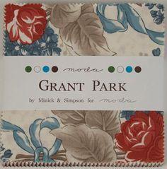 Moda Charm Pack Grant Park