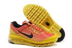 premium selection 47f1c be77c Women Nike Air Max 2013 Sunrise Bigger Size. Yellow Sneakers, Yellow Shoes  ...