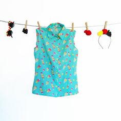 POPSICLE blouse by FruitPunchByMayanile on Etsy, $100.00